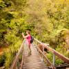 Hiking through Abel-Tasman National Park