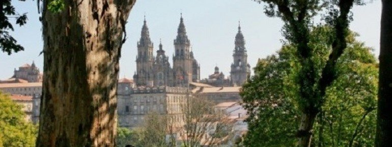 View from the Alameda Park on the historical old town