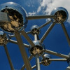 The Atomium is the landmark of Brussels