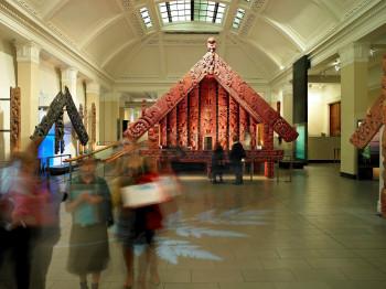 Pataka in the Maori section