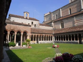 The patio of the monastery