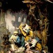 Nativity scene from the 18th century
