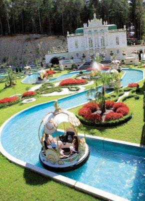 Explore Bayern Park's palace