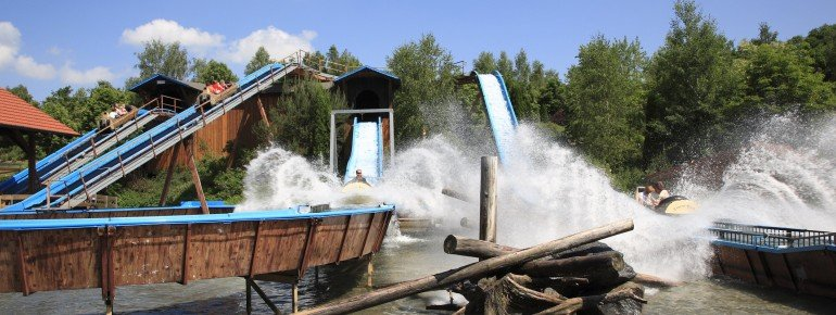 A refreshing adventure - the wild water ride.