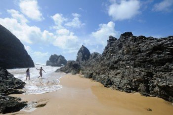 Fantastic bathing beaches on the beautiful island