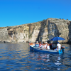 The Blue Grotto is accessible by boat only.