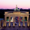 Brandenburg Gate by night.