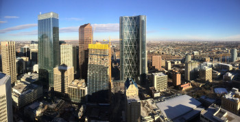 A skyline view from the Tower.