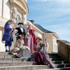 Your tour will be guided by costumed personages of the past.