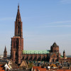 The Strasbourg Cathedral from further away