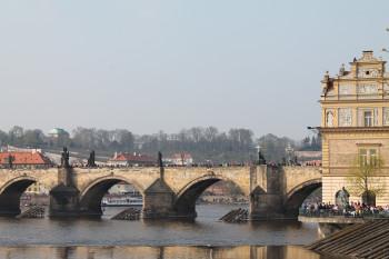 Charles Bridge is one of Prague's most famous landmarks.