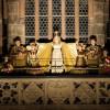 Nuremberg's Baby Jesus opening the Christkindlesmarkt