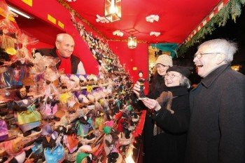There are many curious things to discover at the Christmas market stands