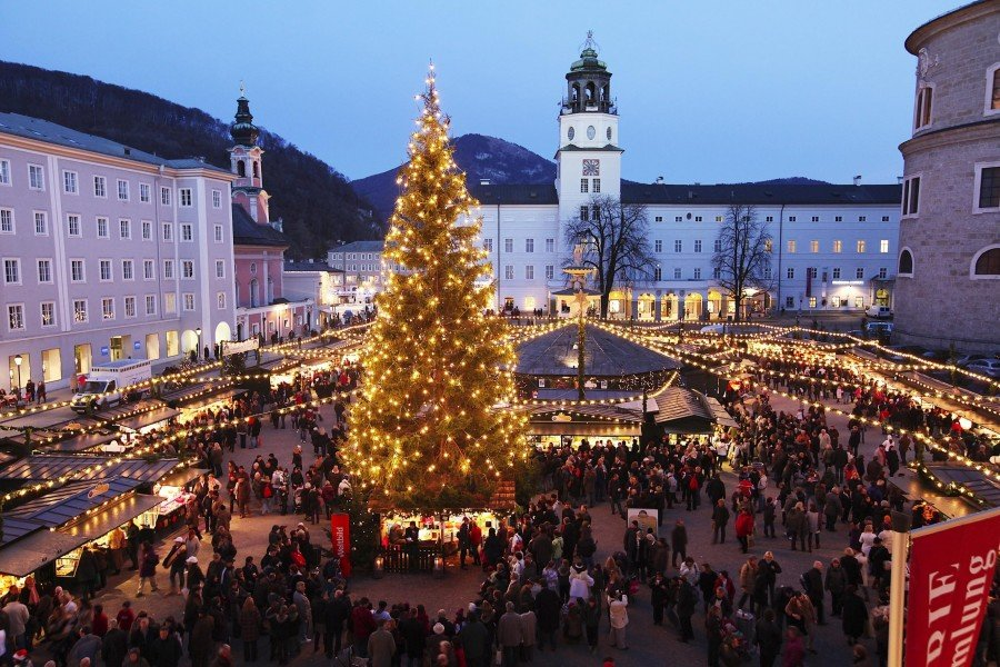 Christkindlmarkt Salzburg • Tourist Attraction Salzburg