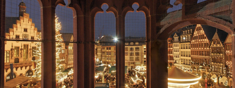 A view from the attic gallery of St. Nicolas' Church