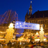 The Christmas market first opens its doors the last week of November.