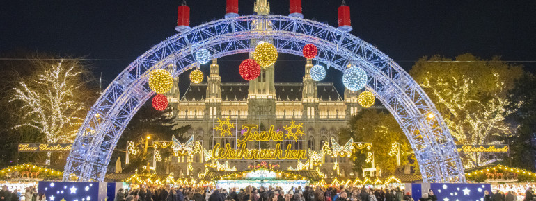 Vienna turns into a Christmas Dream around the holidays.