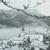 The village of Graun before the damming of the lake.