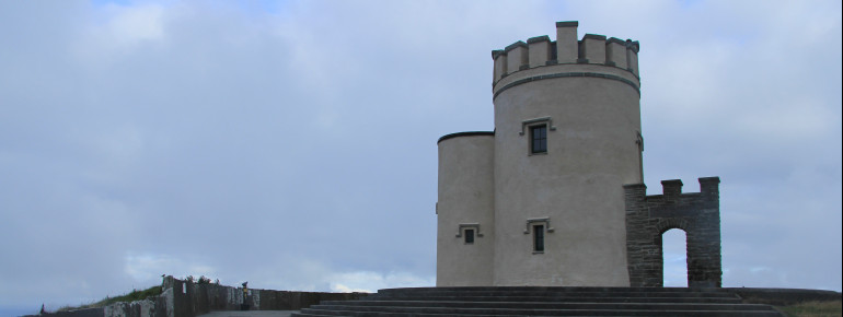 The O'Brien's Tower was built in 1835 by Sir Cornelius O'Brien.