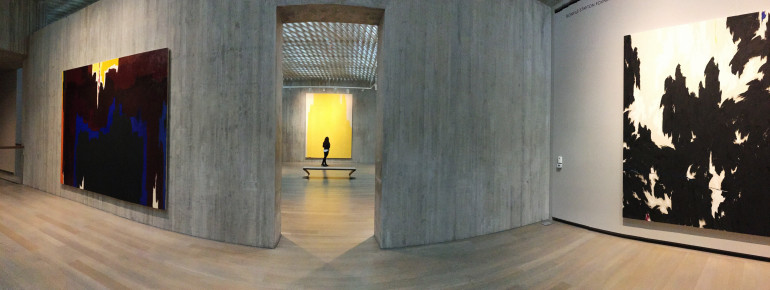 This collection at Clyfford Still Museum is the most intact body of work of any major artist.