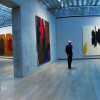 View of an exhibition at the Clyfford Still Museum.