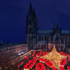 Christmas Market in front of Cologne Cathedral