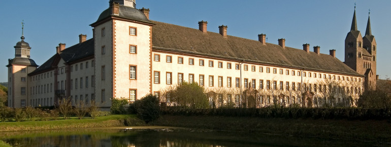 Castle Abbey Corvey