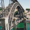 Porto's old town and the Dom Luis Bridge are UNESCO World Heritage sites.