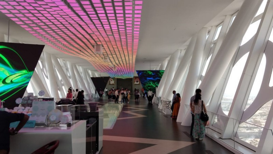 Dubai Frame  Tourist Attraction Dubai-2708