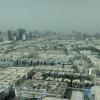 Northbound view: Dubai as it was.
