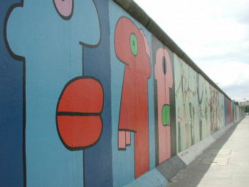 East Side Gallery is an authentic memorial of German reunification.