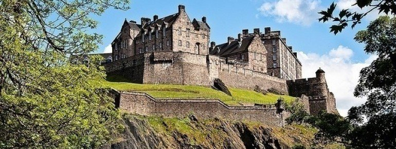 The impressive Edinburgh Castle