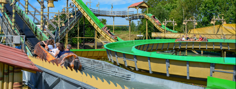 Wild Water Ride 'Pirateninsel'.