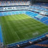 An inside view of the Estadio Santiago Bernabéu