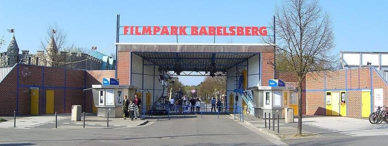Entry to Film Park Babelsberg.