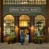 View of the entrance of Denver Central Market, located on 2669 Larimer Street.