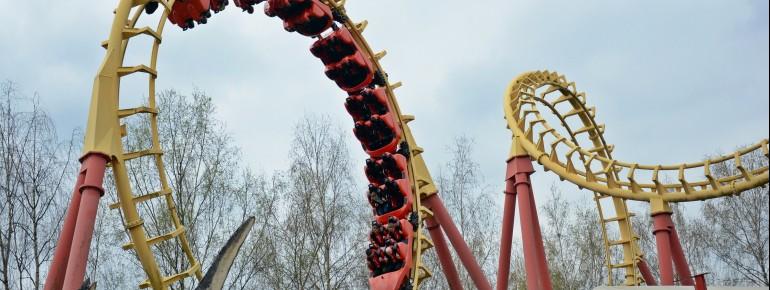 Boomerang features forward as well as backward rides.