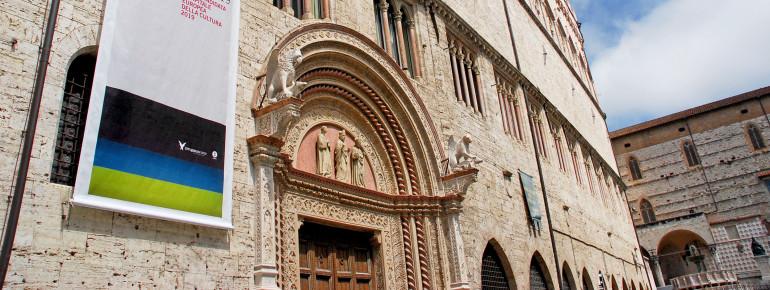 Entrance area to the Galleria Nazionale dell'Umbria