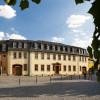 Exterior view of Goethe National Museum in Weimar.