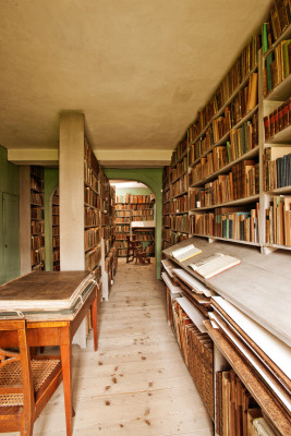 Goethe's library.