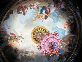 The ceiling painting in the Grand-Théâtre de Bordeaux