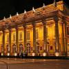 The opera at night