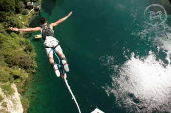 One of numerous exciting outdoor activities at the Great Lake Taupo