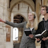 Audio tours are offered for the whole church