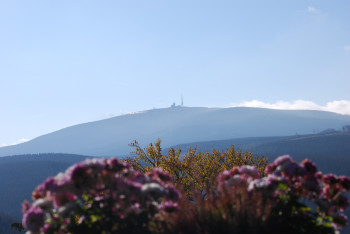 Enjoy the view of Brocken mountain while you hike through the national park.
