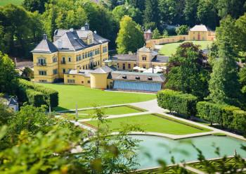 Hellbrunn Palace - a magnificient renaissance building.