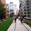 High Line Park runs through New York neighborhoods Meatpacking District & West Chelsea, and has positively influenced their development over the last years.