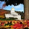 The seat of Vermont's government in the State Capitol