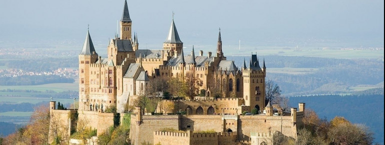 Hohenzollern Castle Tourist Attraction Burg Hohenzollern