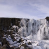 Öxaráfoss waterfall
